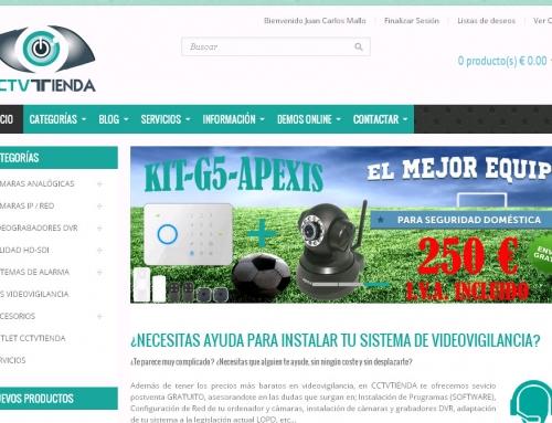 Nueva web cctvtienda.com