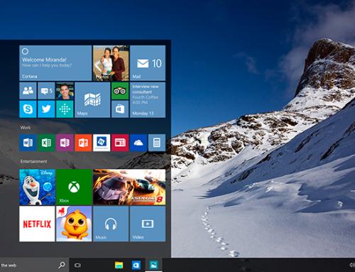 Novedades del Windows 10